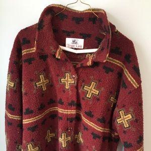 True Grit Jackets & Coats - Women's sharp fleece jacket w buttons